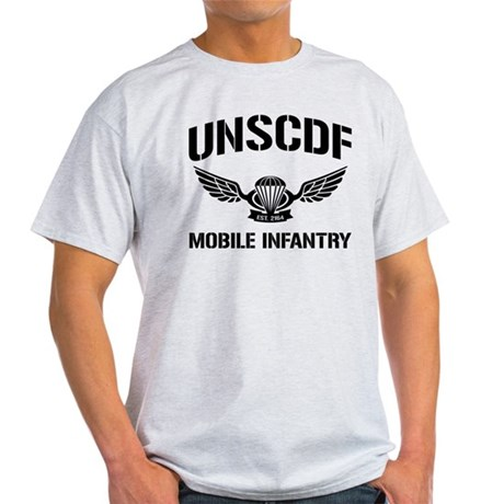 UNSCDF Mobile infantry Light T-Shirt