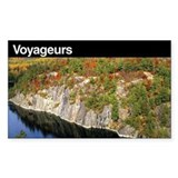 Voyageurs National Park Rectangle Decal
