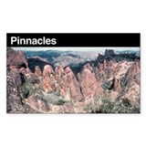 Pinnacles National Monument Rectangle Decal