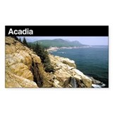 Acadia National Park Rectangle Decal