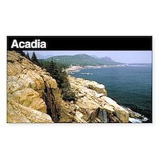Acadia National Park Rectangle Decal
