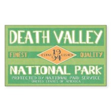 Death Valley National Park (Retro) Decal