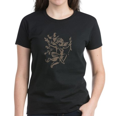 Vintage Cupid Women's Dark T-Shirt