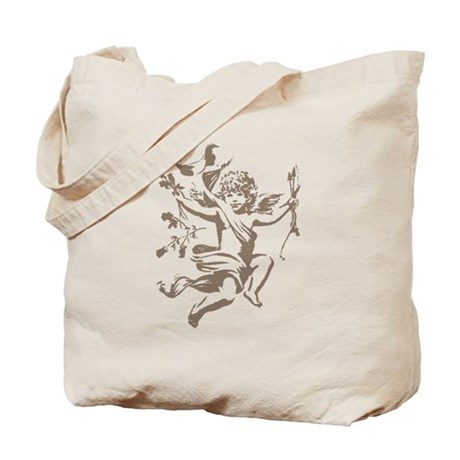 Vintage Cupid Tote Bag
