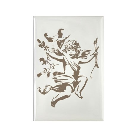 Vintage Cupid Rectangle Magnet