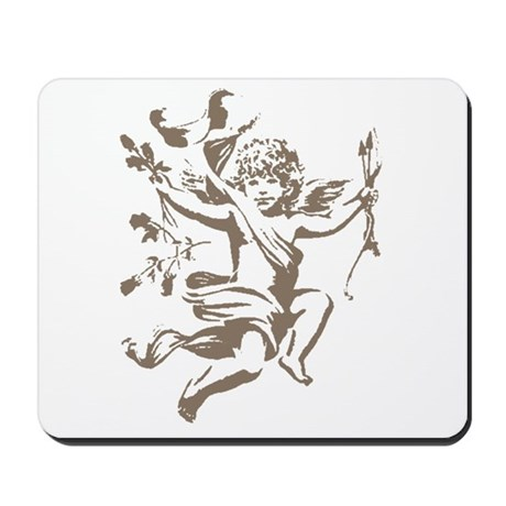 Vintage Cupid Mousepad