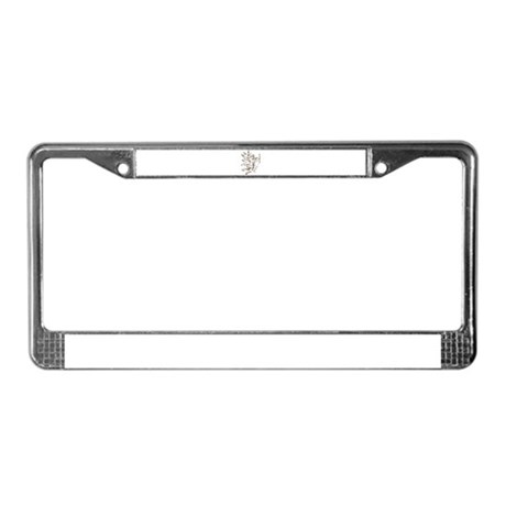 Vintage Cupid License Plate Frame