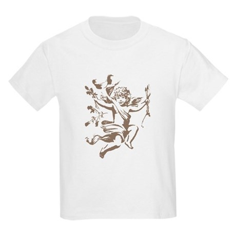 Vintage Cupid Kids Light T-Shirt