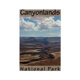 Canyonlands National Park (Ve Rectangle Magnet