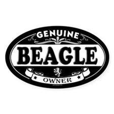 BEAGLE Oval Decal