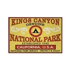 Kings Canyon National Park Rectangle Magnet