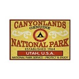 Canyonlands National Park Rectangle Magnet