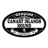 CANARY ISLANDS HOUND Oval Decal
