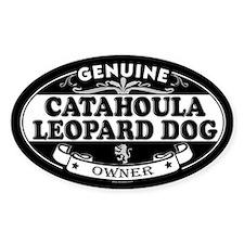 CATAHOULA LEOPARD DOG Oval Bumper Stickers