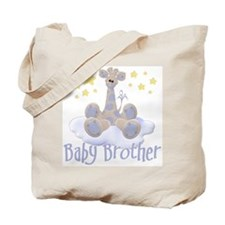 Baby Brother Giraffe Tote Bag