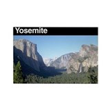 Yosemite national park Rectangular Magnet