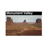 Monument Valley Rectangle Magnet