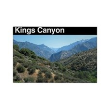 Kings Canyon NP Rectangle Magnet