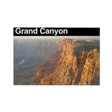 Walnut canyon Rectangular Magnet
