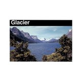 Glacier national park Magnets