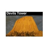 Devils Tower NM Rectangle Magnet
