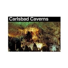 Carlsbad Caverns NP Rectangle Magnet