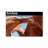 Arches NP Rectangle Magnet