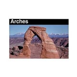 Arches National Park Rectangle Magnet