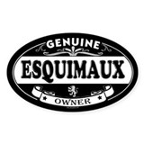 ESQUIMAUX Oval Decal