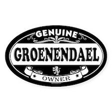 GROENENDAEL Oval Decal