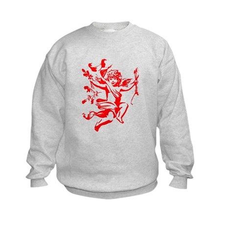 Vintage Cupid Kids Sweatshirt