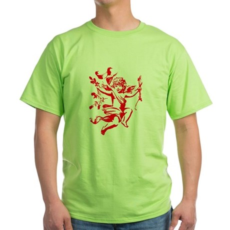 Vintage Cupid Green T-Shirt