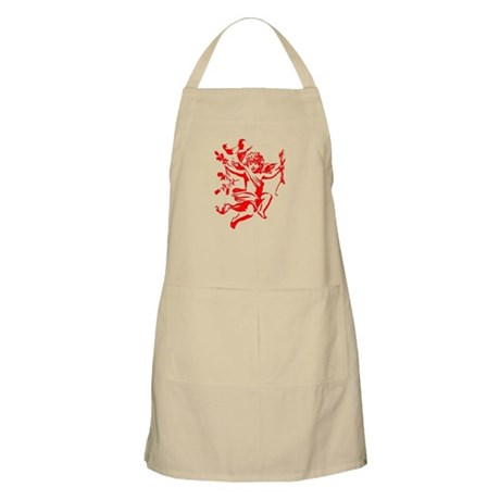 Vintage Cupid BBQ Apron