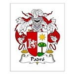 Padro Family Crest Small Poster