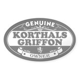 KORTHALS GRIFFON Oval Decal