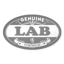LAB Oval Decal