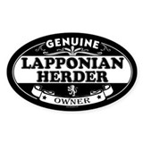 LAPPONIAN HERDER Oval Decal