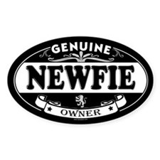 NEWFIE Oval Decal
