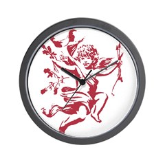 Vintage Cupid Wall Clock