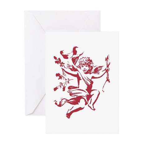 Vintage Cupid Greeting Card