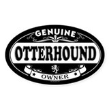 OTTERHOUND Oval Decal