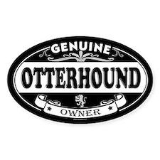 OTTERHOUND Oval Decal