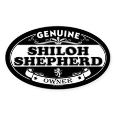 SHILOH SHEPHERD Oval Decal