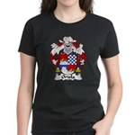 Oriola Family Crest  Women's Dark T-Shirt