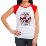 Oriola Family Crest  Women's Cap Sleeve T-Shirt