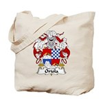 Oriola Family Crest  Tote Bag