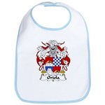 Oriola Family Crest  Bib