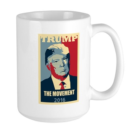 TRUMP Poster Style The MOVEMENT Election 2016 Mugs