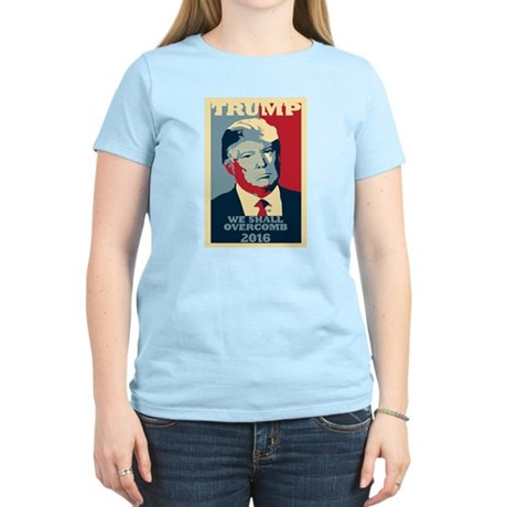 TRUMP PARODY WE SHALL OVERCOMB POSTER STYLE T-Shir