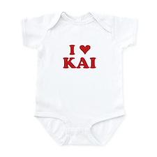 I LOVE KAI Infant Bodysuit